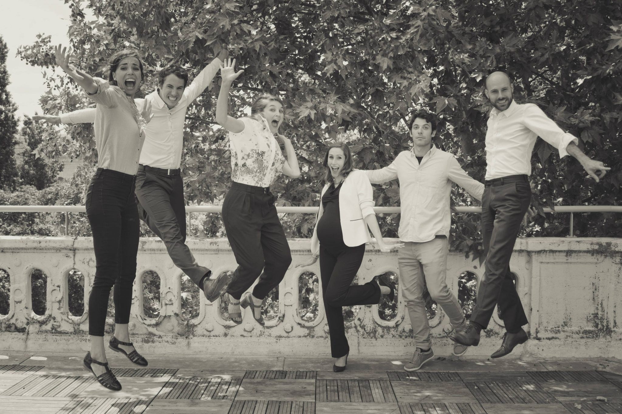 Les six membres du collectif Impact Lawyers